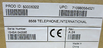 NEW Mitel 8568 LCD Display Business Telephone - P/N 50006322